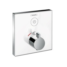 Hansgrohe Shower Select Glass Termostatická sprchová baterie pod omítku, chrom 15737400