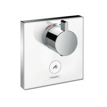 Highflow termostat pod omítku pro 1 spotřebič a jeden dodatečný vývod, chrom