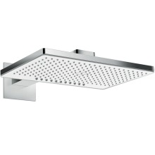 Horní sprcha 460 2jet EcoSmart 9 l/min s ramenem 460 mm, bílá/chrom