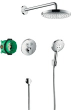 Hansgrohe Raindance Select S Sprchový set 240 s termostatem ShowerSelect S, 2 proudy, chrom 27297000