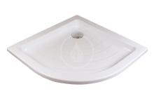 Sprchová vanička Ronda-80 LA, 805x805 mm, AntiBac, bílá