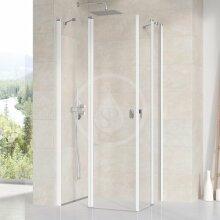Sprchové dveře CRV2-80, 780-800 mm, bílá/čiré sklo