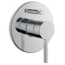 Laufen Vrchní sada podomítkové vanové/sprchové baterie pro Simibox, chrom H3213360040101