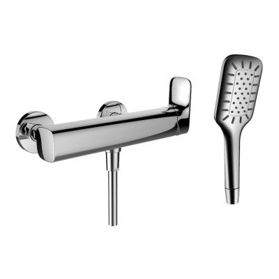 Sprchová nástěnná páková baterie, chrom