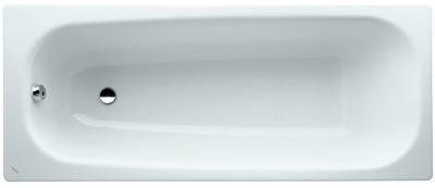 Ocelová vana, 1600 x 700 mm, bílá