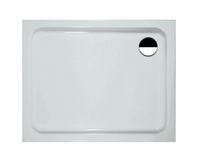 Sprchová vanička, 1000 x 900 mm, bílá