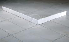 Čelní panel SET L, pro vaničku 1000x800 mm, levý, bílá