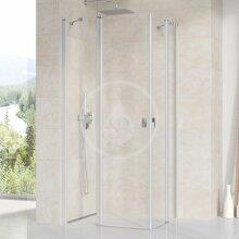 Sprchové dveře CRV2-80, 780-800 mm, satin/čiré sklo