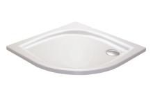 Sprchová vanička Elipso LA, 800x800 mm, AntiBac, bílá