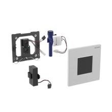 Geberit Elektronické ovládání splachování pisoárů Typ 30, napájení z baterie, černá/pochromovaná lesklá/černá 116.037.KM.1