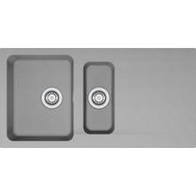 Franke Orion Tectonitový dřez OID 651, 1000x510 mm, šedá 114.0442.806