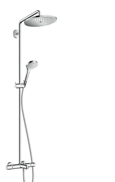 Sprchová souprava 280 1jet Showerpipe k vaně, chrom