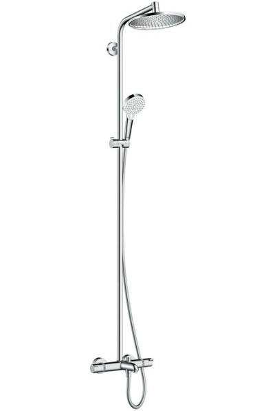 Sprchová souprava S 240 Showerpipe k vaně termostat, chrom