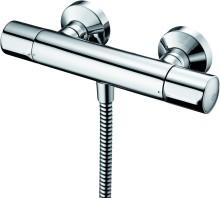 Termostatická sprchová baterie nástěnná, chrom