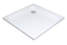 Sprchová vanička Angela LA, 800x800 mm, AntiBac, bílá