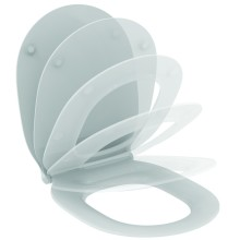 WC sedátko ultra ploché softclose, 365 x 445 x 50 mm, bílá