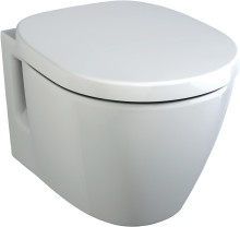 Ideal Standard Závěsný klozet 340 x 360 x 480 mm, s Ideal Plus, bílá E8018MA