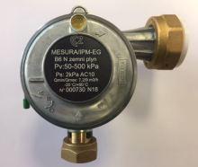 Reguláror tlaku plynu MESURA B 6 rohový