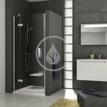 Sprchové dveře dvoudílné SMSD2-90 A-L, 889-906 mm, levé, chrom/čiré sklo