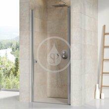 Sprchové dveře jednodílné CSD1-80, 775-805 mm, lesklý hliník/čiré sklo