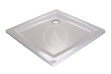 Sprchová vanička Perseus LA, 800x800 mm, AntiBac, bílá
