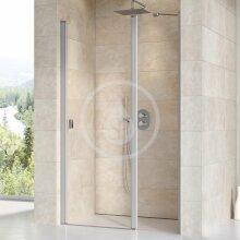 Sprchové dveře dvoudílné CSD2-100, 975-1005 mm, satin/čiré sklo