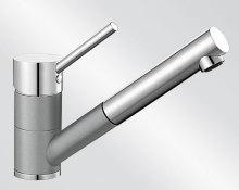 Blanco ANTAS-S Keramika-look dvoubarevná aluminium/chrom 516074