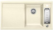 Blanco AXIA II 5 S Silgranit jasmín dřez vpravo s excentrem přísluš. ano 516806