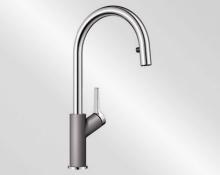Blanco CARENA-S aluminium/chrom 520982