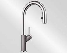Blanco CARENA-S Vario aluminium/chrom 521360