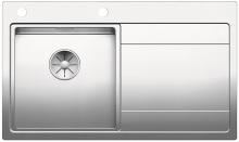 Blanco DIVON II 45 S-IF InFino Nerez hedvábný lesk dřez vlevo s excentrem 521657