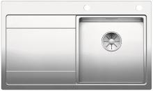 Blanco DIVON II 45 S-IF InFino Nerez hedvábný lesk dřez vpravo s excentrem 521658