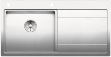 Blanco DIVON II 5 S-IF InFino Nerez hedvábný lesk dřez vlevo s excentrem 521659