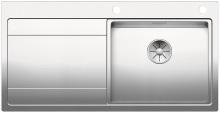 Blanco DIVON II 5 S-IF InFino Nerez hedvábný lesk dřez vpravo s excentrem 521660