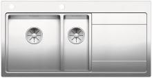 Blanco DIVON II 6 S-IF InFino Nerez hedvábný lesk dřez vlevo s excentrem 521661
