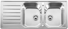 Blanco LANTOS 8 S-IF Compact nerez kartáčovaný oboustranné provedení  s excentrem 519713