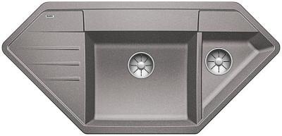 Blanco LEXA 9 E InFino Silgranit aluminium bez excentru 525002