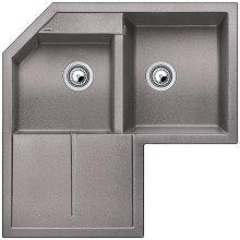 Blanco METRA 9 E Silgranit aluminium 515567