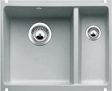 Blanco SUBLINE 350/150 U Keramika aluminium  s táhlem dřez vlevo 514528