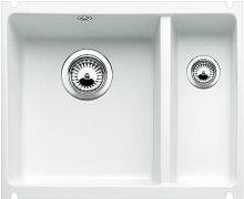 Blanco SUBLINE 350/150 U Keramika zářivě bílá bez táhla dřez vlevo 514522