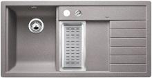 Blanco TRISONA 6 S Silgranit aluminium dřez vlevo s excentrem přísluš. ano 513776