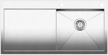 Blanco ZEROX 5 S-IF Nerez hedvábný lesk dřez vpravo s táhlem 514005