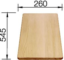 Dřevěná krájecí deska buk IDENTO, ZENAR, AXON 234701