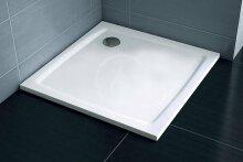 Sprchová vanička Perseus Pro-90 Flat, 900x900 mm, bílá
