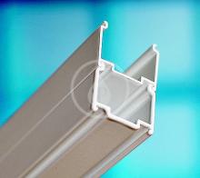 Nastavovací profil ANPV pro vanové zástěny, výška 1370 mm, satin