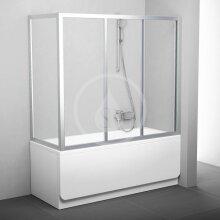 Pevná vanová APSV-70, 670-705 mm, satin/čiré sklo