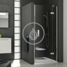Sprchové dveře dvoudílné SMSD2-90 A-R, 889-906 mm, pravé, chrom/čiré sklo