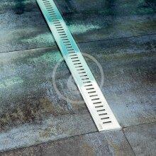 Odtokový sprchový žlab s nerezovým roštem, 750 mm