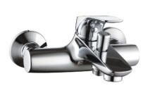 vodovodní baterie DESIGN QUADRO - vanová vodovodní baterie 150mm CR