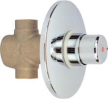 RIVER R 7500 s MTC systémem- sprchový časový podomítkový výtokový ventil MTC